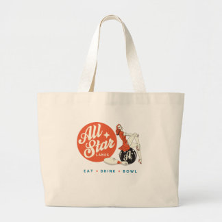 All Star Bowling Large Tote Bag