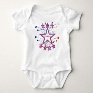 All Star Boys Red White & Blue Infant Creeper