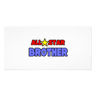 All Star Brother Photo Card Template