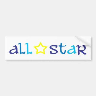 All Star Bumper Sticker