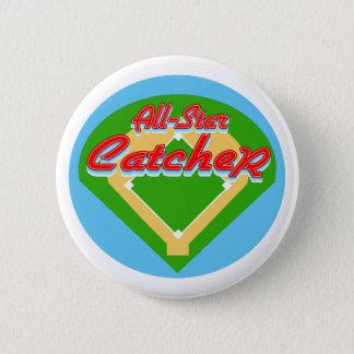 All-Star Catcher Pinback Button