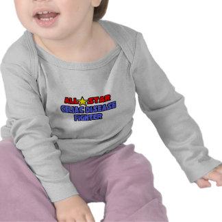 All Star Celiac Disease Fighter T-shirts