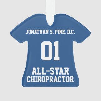 All-Star Chiropractor T-Shirt Ornament