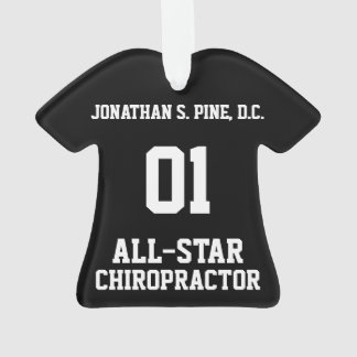 All-Star Chiropractor T-Shirt Ornament