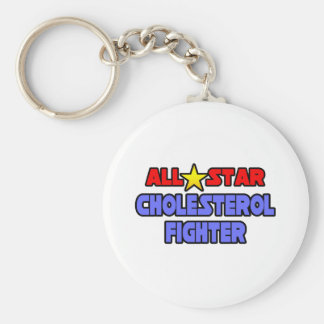 All Star Cholesterol Fighter Keychain