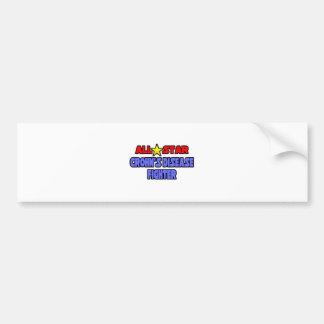 All Star Crohn's Disease Fighter Bumper Sticker