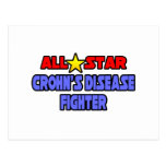 All Star Crohn's Disease Fighter Postcards