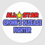 All Star Crohn's Disease Fighter Stickers
