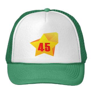 ¡All Star cuarenta y cinco años! Cumpleaños Gorro