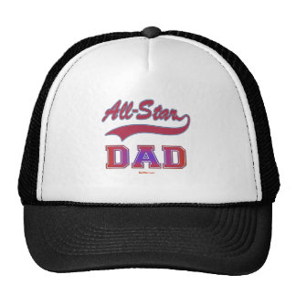 ALL STAR DAD GIFTS TRUCKER HAT