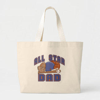 All Star Dad SPORTS Canvas Bags