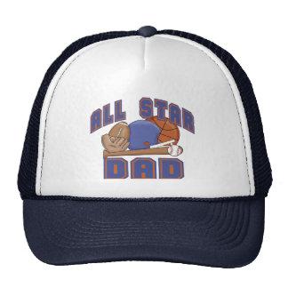 All Star Dad SPORTS Trucker Hat