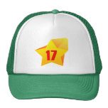¡All Star diecisiete años! Cumpleaños Gorras