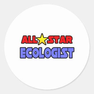 All Star Ecologist Classic Round Sticker