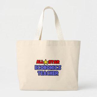 All Star Economics Teacher Canvas Bags
