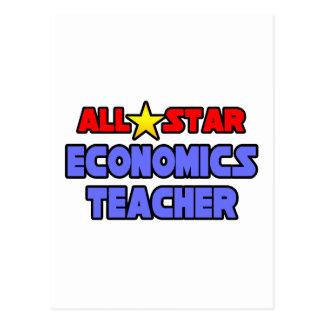 All Star Economics Teacher Postcard