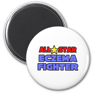 All Star Eczema Fighter Refrigerator Magnets