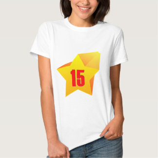 All Star Fifteen years old! Birthday T Shirts