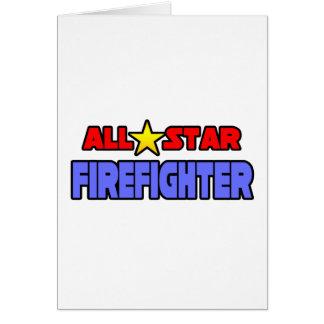 All Star Firefighter Card
