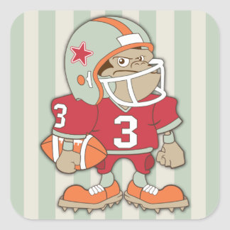 All Star Football Player Sports Stickers