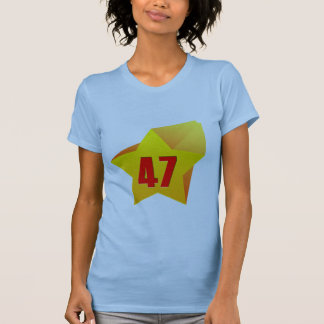 All Star Fourty Seven years old! Birthday T Shirts