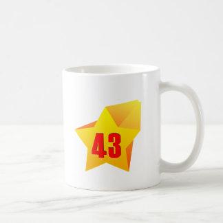 All Star Fourty Three years old Birthday Mug