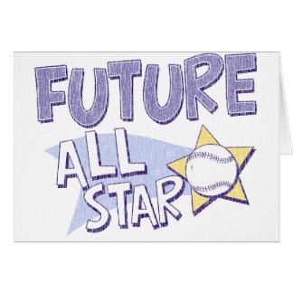 All Star futuro Tarjeta De Felicitación