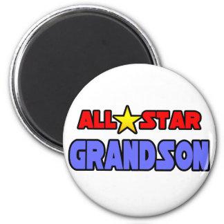 All Star Grandson Magnet