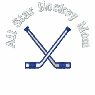 All Star Hockey Mom Embroidered Shirt