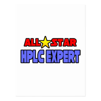 All Star HPLC Expert Post Cards