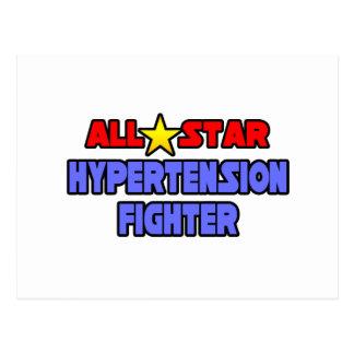 All Star Hypertension Fighter Postcard