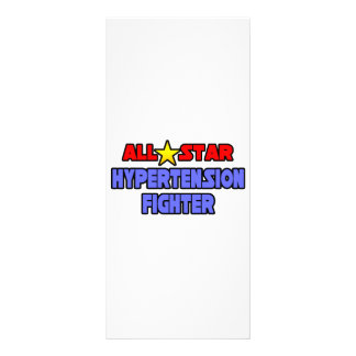 All Star Hypertension Fighter Customized Rack Card