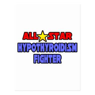 All Star Hypothyroidism Fighter Postcard