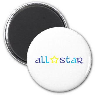 All Star Imán De Frigorífico