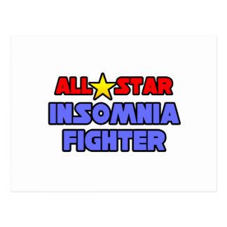 All Star Insomnia Fighter Postcard
