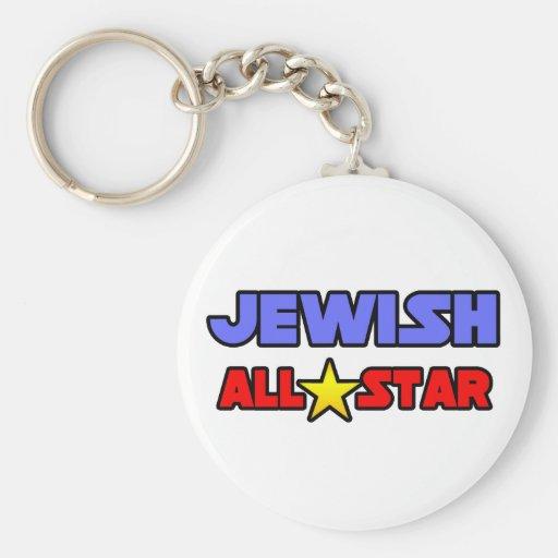 All Star judío Llaveros