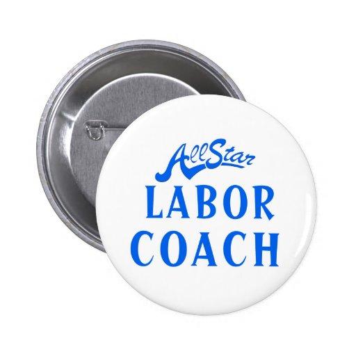 All Star Labor Coach Button