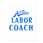 All Star Labor Coach Post Cards
