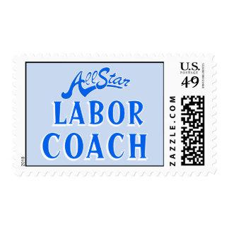All Star Labor Coach Stamp