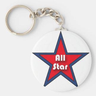 All Star Llavero Redondo Tipo Pin