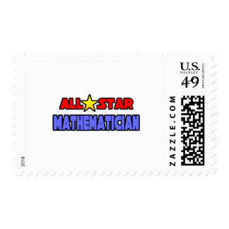 All Star Mathematician Stamps
