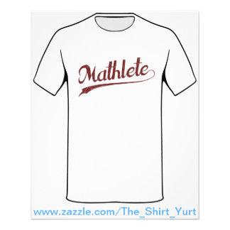 All Star Mathlete Math Athlete Flyer