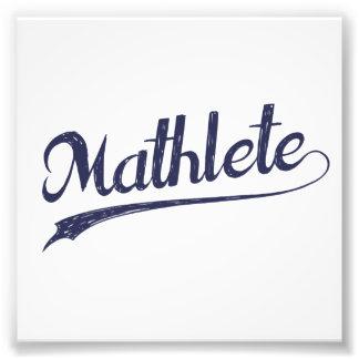 All Star Mathlete Math Athlete Photo Print