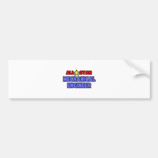 All Star Mechanical Engineer Bumper Sticker
