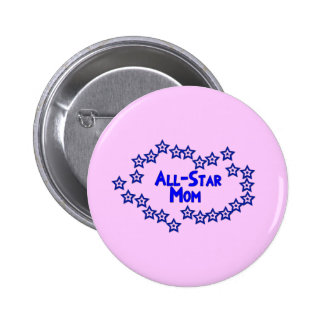 All Star Mom 2 Inch Round Button