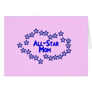 All Star Mom Greeting Card
