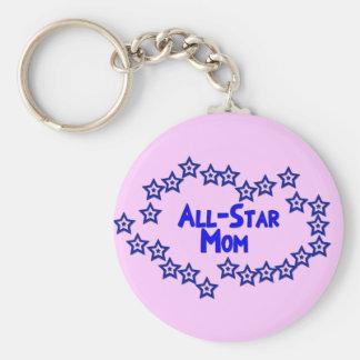 All Star Mom Keychain