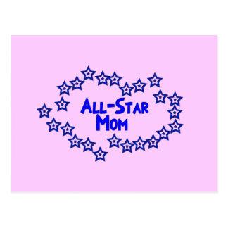 All Star Mom Postcard