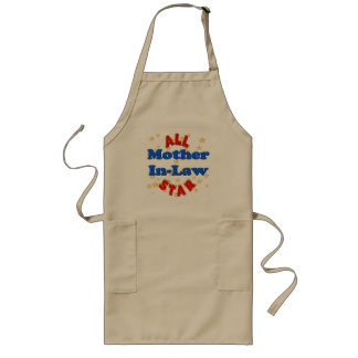 All Star Mother-In-Law Mothers Day Gifts Long Apron