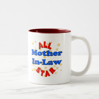All Star Mother-In-Law Mothers Day Gifts Two-Tone Coffee Mug